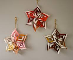 How To Make A 3d Snowflake How To Make 3d Paper Snowflake This Mama Makes Stuff