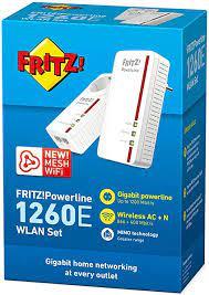 AVM Fritz!Powerline 1260E WLAN Set Edit, 20002819 (Set Edit): Computers &  Accessories - Amazon.com