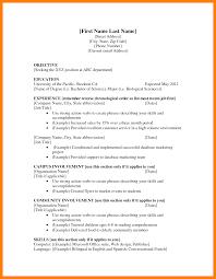 9 Cv Template First Job Payslips Format