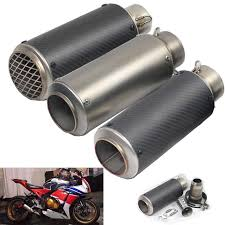 36 <b>51mm</b> Motorcycle For SC GP Scooter Project <b>Exhaust Muffler</b> ...