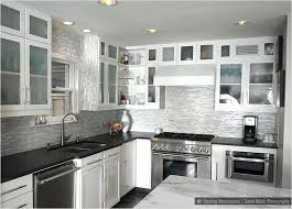 kitchen white cabinets black photo 4 backsplash for countertops ideas with and