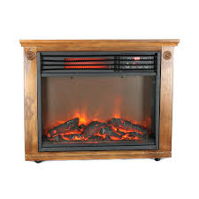 com lifepro 3 element portable electric infrared quartz fireplace heater ls 1111hh home kitchen