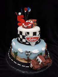 2 Tier Cars Birthday Cake Celticcakescom