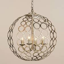 chandelier cool iron orb chandelier foucault s orb crystal chandelier extra large round silver metal chandeliers
