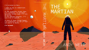 Image result for the martian book cover