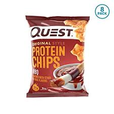 quest nutrition bbq protein chips low carb gluten free soy free potato