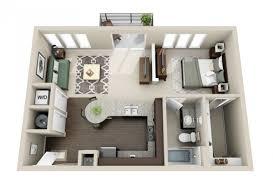 Le Plan Maison Dun Appartement Une Pièce 50 Idées