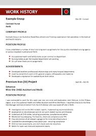 Cover Letter Template Resume Australia Resume Template Australia