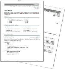 Australian Format Resumes Marketing Yourself Australian Resume Cv Find Sponsored