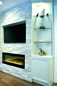 electric fireplace narrow