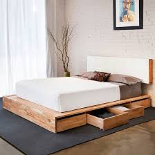 creative of queen platform bed frame with headboard with best 25 queen storage bed frame ideas