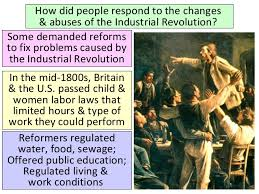 impact of the industrial revolution ppt socialism 21 how did people respond to the changes abuses of the industrial revolution