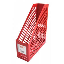 Red Magazine Holder