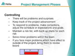 Project Management Phases And Milestones Jukka A Miettinen September