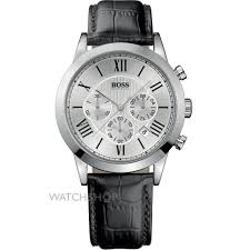 "men s hugo boss chronograph watch 1512573 watch shop comâ""¢ mens hugo boss chronograph watch 1512573"
