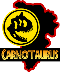 carnotaurus jurassic park logo by OniPunisher on DeviantArt