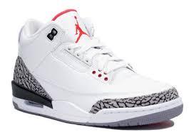 jordan shoes retro 3. jordan retro 3 | nike air white/cement grey sneakers upscalehype shoes