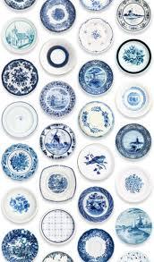 Bolcom Studio Ditte Behang Porcelein Blauw