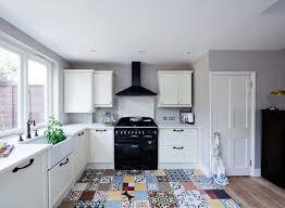 kitchen encaustic cement tiles patchwork brick splashback kitchen accessories farrow and ball elephants breath walls