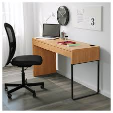 IKEA MICKE desk A long table top makes it easy to create a workspace for two