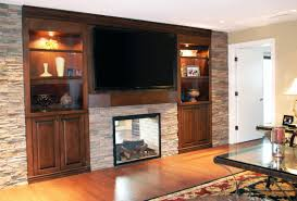 ... Room With Wall Units, Entertainment Center With Built In Fireplace  Built In Entertainment Center Design Ideas ...