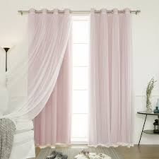 Lace Window Treatments Amazoncom Best Home Fashion Thermal Insulated Blackout Curtains