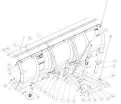 snowdogg md68 plow acc 16124010 back drag edge 80in
