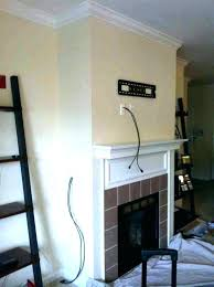 mounting tv over fireplace hanging above fireplace mounting a over a fireplace best above fireplace ideas on above mantle mount tv over fireplace no studs