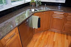 Kitchen Sinks For Granite Countertops Cracked Granite Countertop