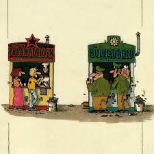 Comic Zeichner Gerhard Seyfried Kreuzberg Und Die Hausbesetzer