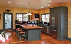 Blue Painted Kitchen Cabinets Blue Milk Paint Kitchen Cabinets Best Home Furniture Decoration