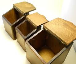 Wood Kitchen Storage Box
