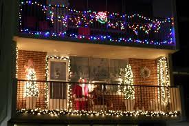 Balcony Lights Fresh Christmas Light Ideas For Balcony On Exterior Design