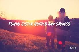 100 Funny Sister Quotes And Sayings With Images