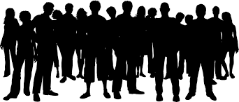 Diverse Group of People Silhouette (Page 1) - Line.17QQ.com