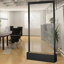 office water features. Glass Wall Water Features Indoor Grandeblackonyxandclearglass Office .