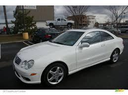 2004 Alabaster White Mercedes-Benz CLK 500 Coupe #61112882 ...