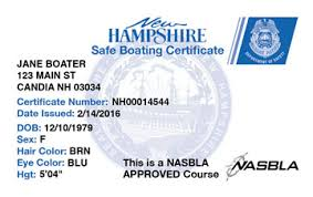 amp; Boat Boating Course New License Safety Hampshire Ed®