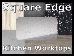 kitchen worktops square edged laminate brand new for the top of units suit any door style