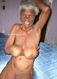 Sexy black old grannies