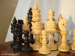 old chess sets on ebay. Plain Chess Some Of My Unusual Chess Set Include A Peruvian Handpainted Inca Imperial  City Set From Novica And The Huaman Paucar Family A Nuts Bolts Found  And Old Sets On Ebay R