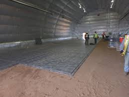 high performance flooring for prefabricated structures