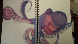 Small Picture Octopus Drawing by kelly of yore on DeviantArt