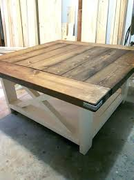 white clad coffee table white and oak coffee table best rustic square coffee table ideas on white clad coffee table