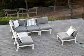 Attractive Aluminium Outdoor Furniture Steel Or Aluminum Patio Aluminium Outdoor Furniture