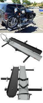 carrier ramp. rage powersport motorcycle carrier with long ramp and aluminum track for 2\
