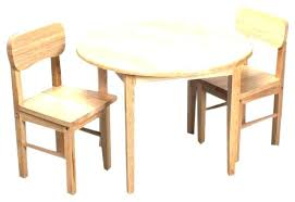 rare round kid table love this pecan kids chair set on furniture uk childrens2