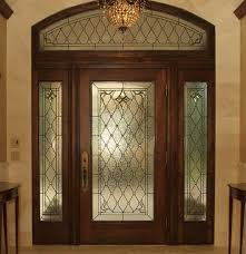 entryway stained glass transom sidelights door houston texas