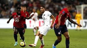Supercoppa francese, Lille - Psg 1-0: Hakimi sconfitto e fischiato - La  Gazzetta dello Sport