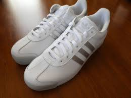adidas samoa aq7906 shoes mens new sneakers white silver